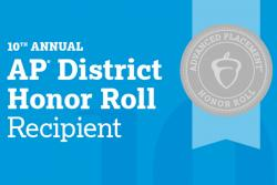 SBHSD Named to AP District Honor Roll