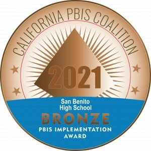 SBHS Recognized for Excellence in PBIS Implementation